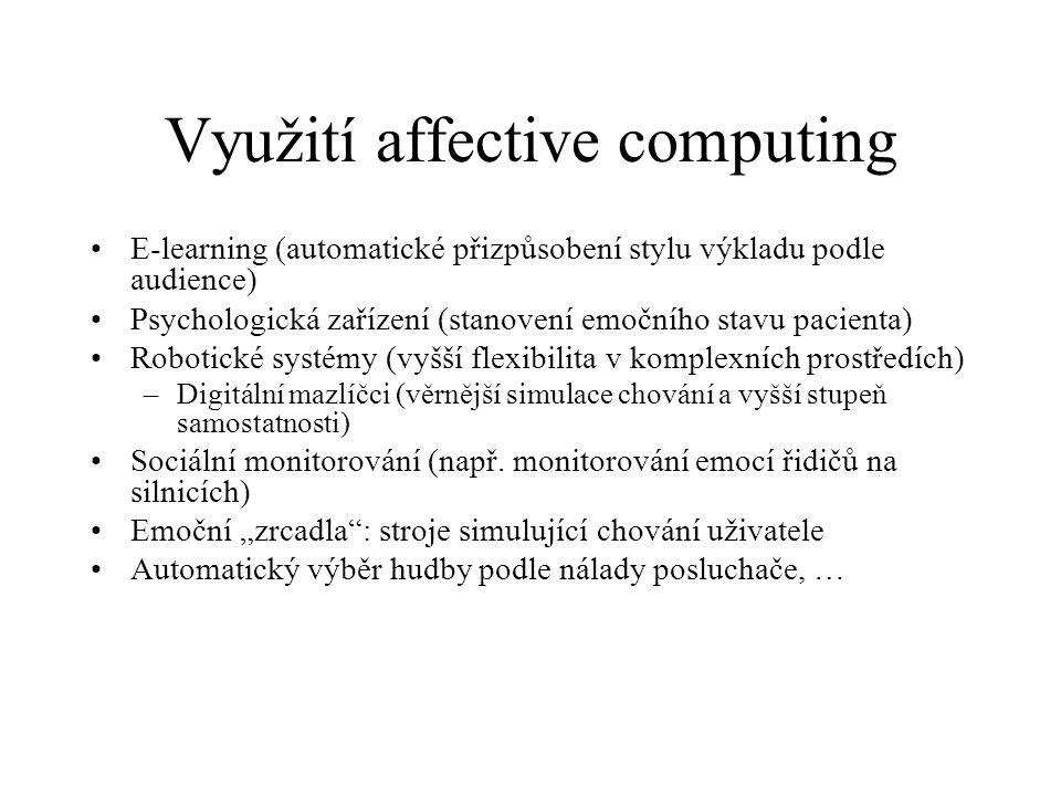 Využití affective computing