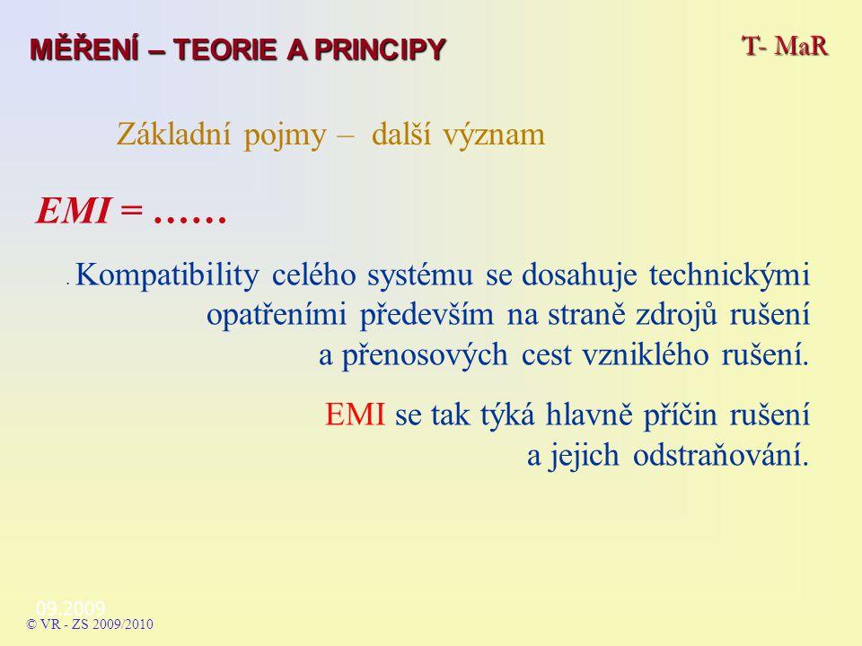 EMI = …… Základní pojmy – další význam