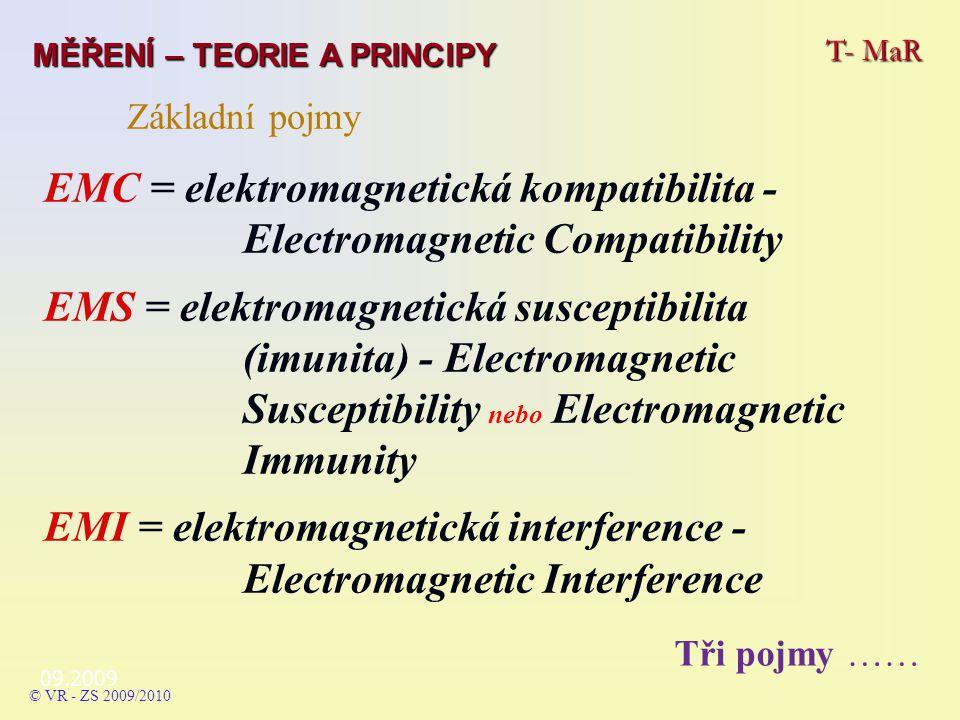 EMC = elektromagnetická kompatibilita - Electromagnetic Compatibility