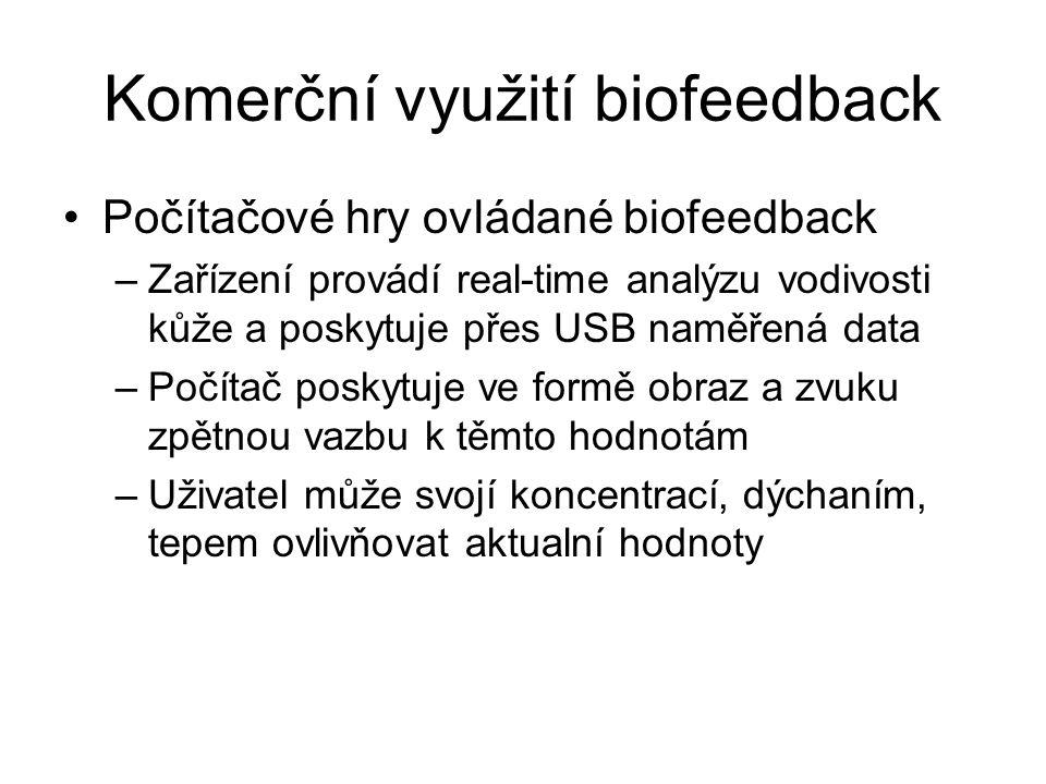 Komerční využití biofeedback
