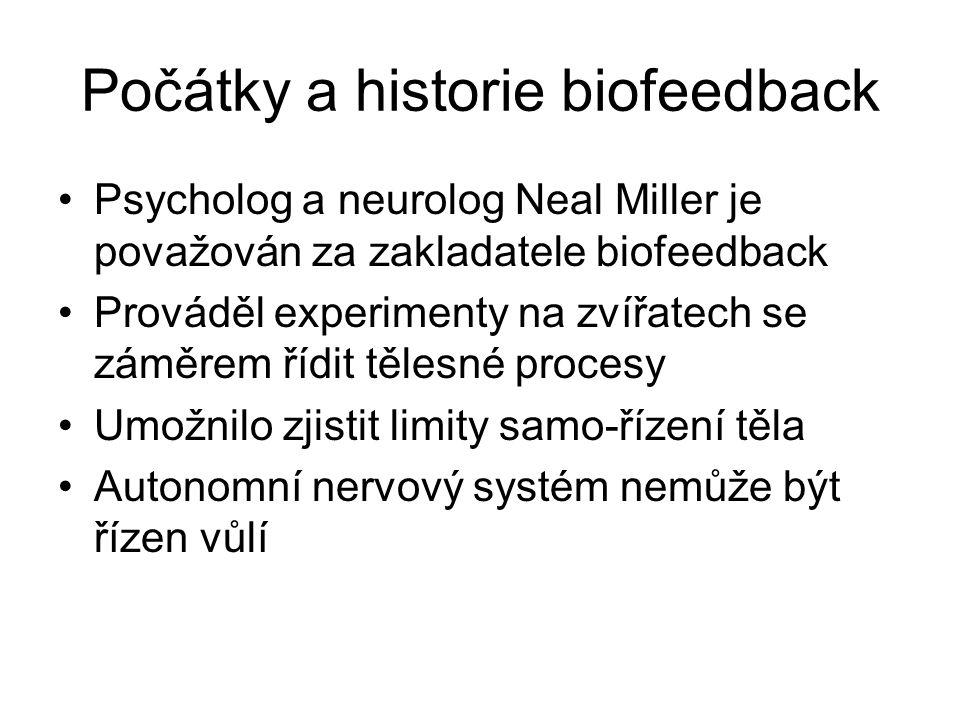 Počátky a historie biofeedback