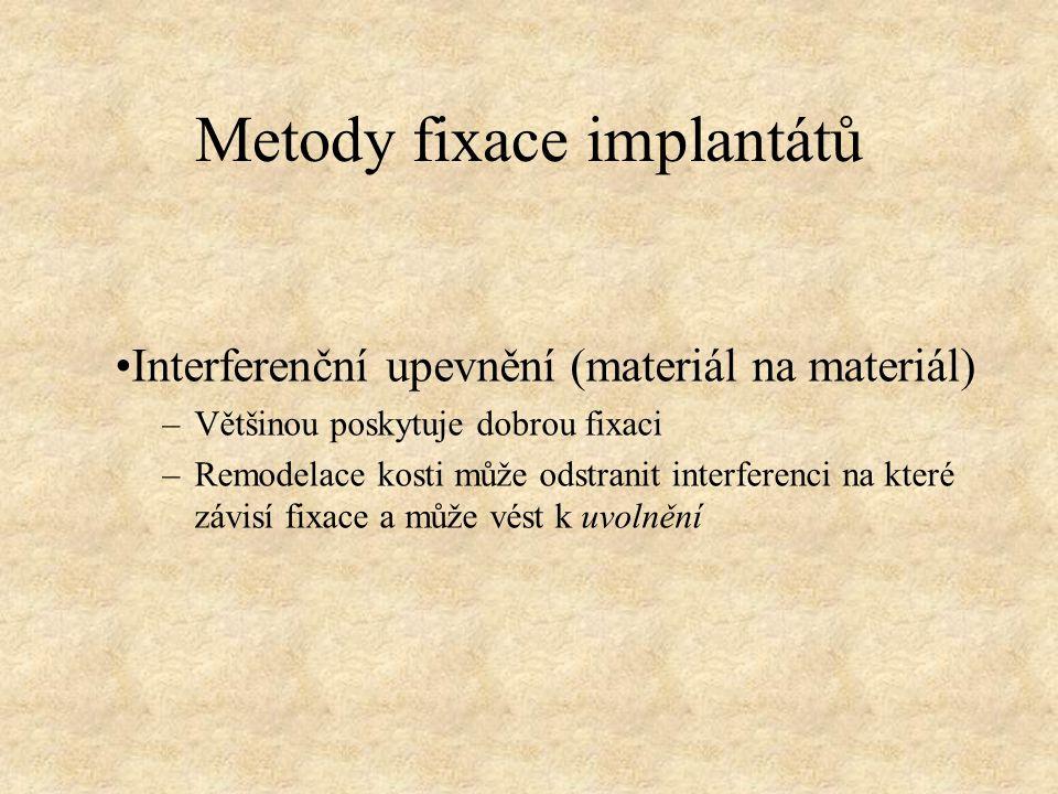 Metody fixace implantátů