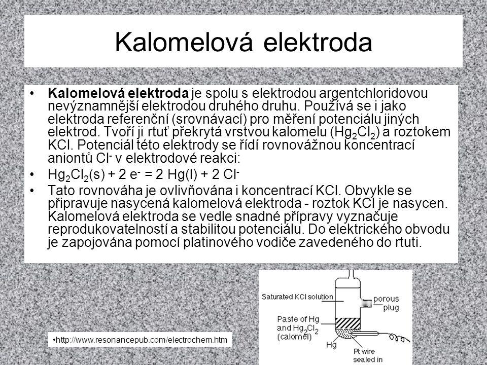 Kalomelová elektroda