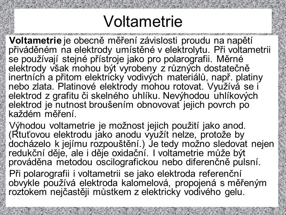 Voltametrie