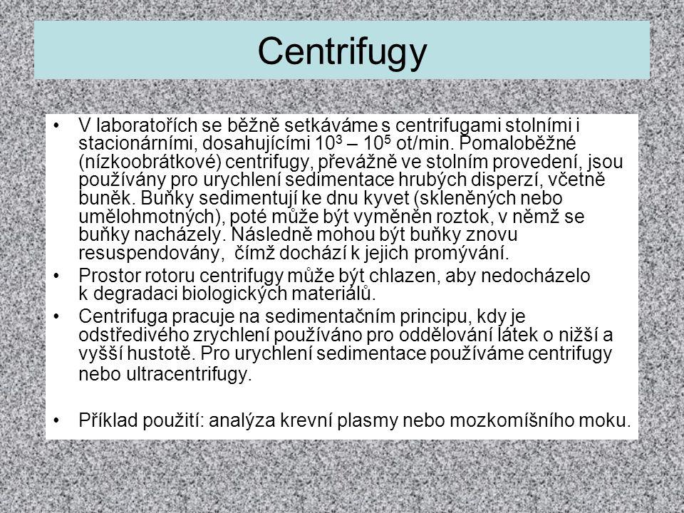 Centrifugy