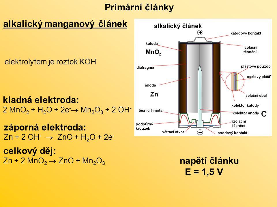 alkalický manganový článek