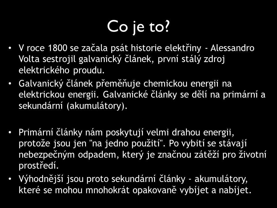 Co je to V roce 1800 se začala psát historie elektřiny - Alessandro Volta sestrojil galvanický článek, první stálý zdroj elektrického proudu.