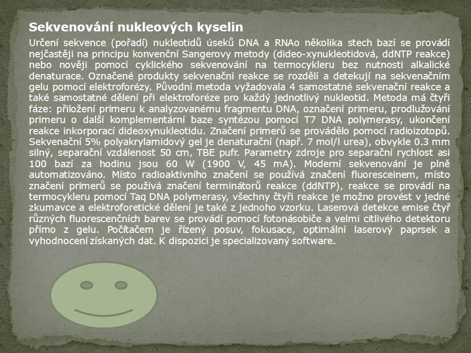 Sekvenování nukleových kyselin