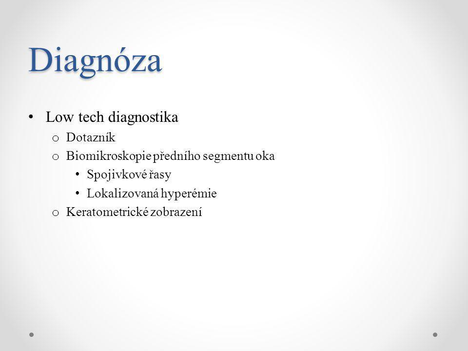 Diagnóza Low tech diagnostika Dotazník
