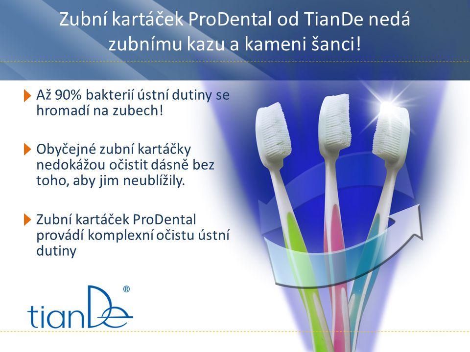 Zubní kartáček ProDental od TianDe nedá zubnímu kazu a kameni šanci!