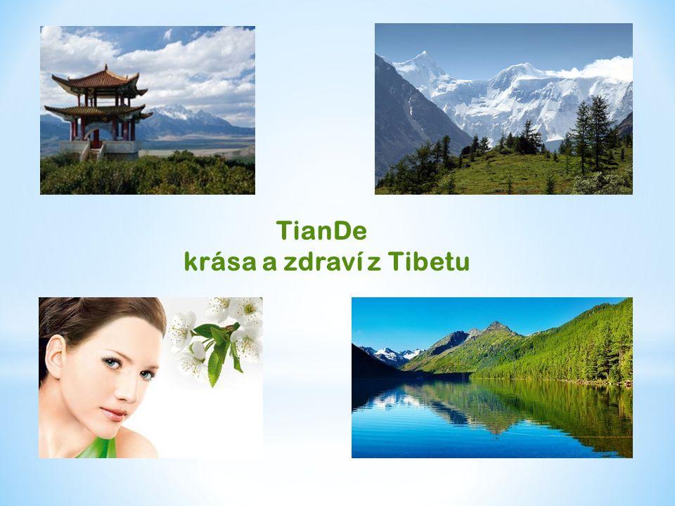 TianDe krása a zdraví z Tibetu