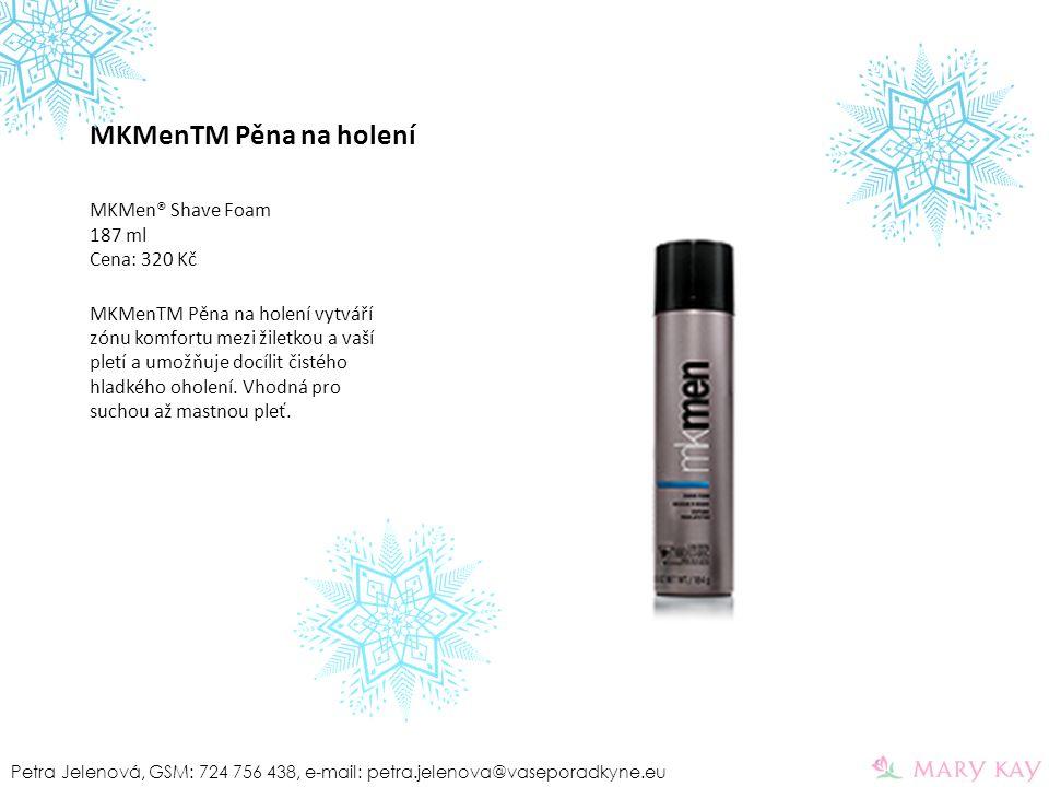 MKMenTM Pěna na holení MKMen® Shave Foam 187 ml Cena: 320 Kč