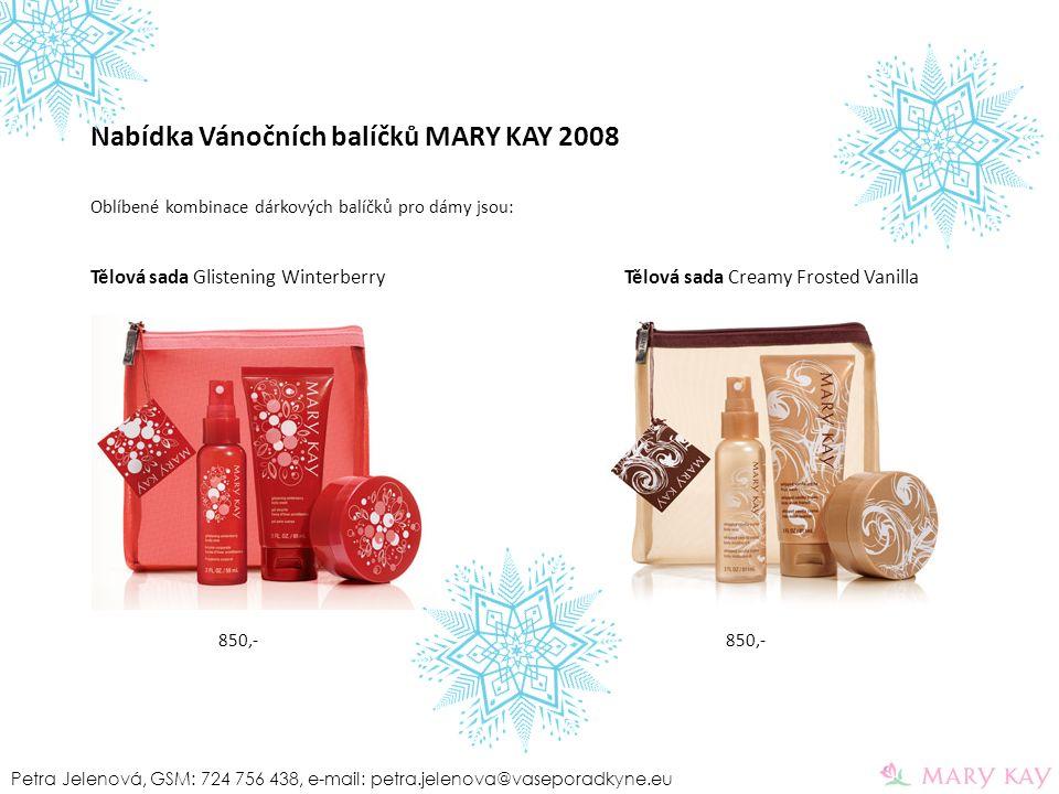 Nabídka Vánočních balíčků MARY KAY 2008