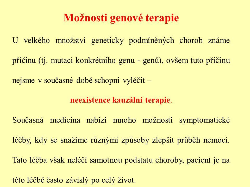 Možnosti genové terapie