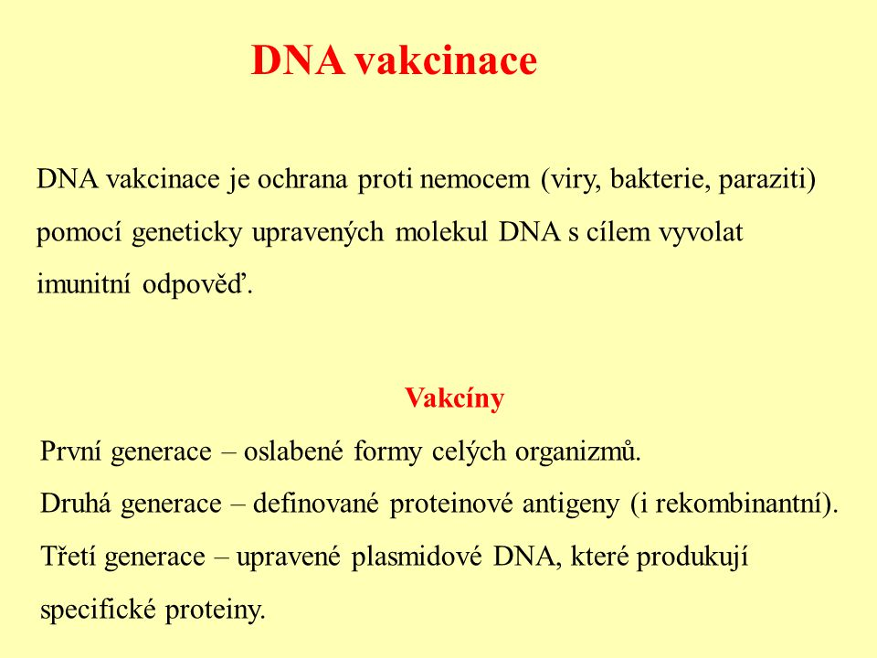 DNA vakcinace