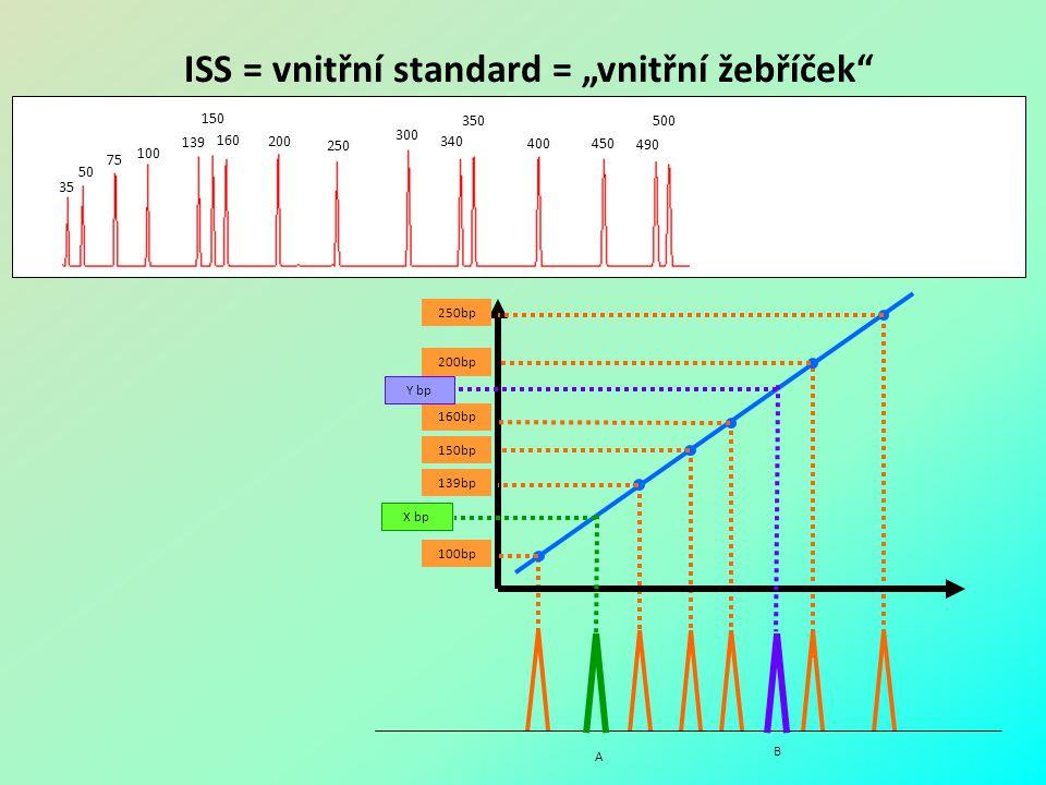 """ISS = vnitřní standard = """"vnitřní žebříček"""