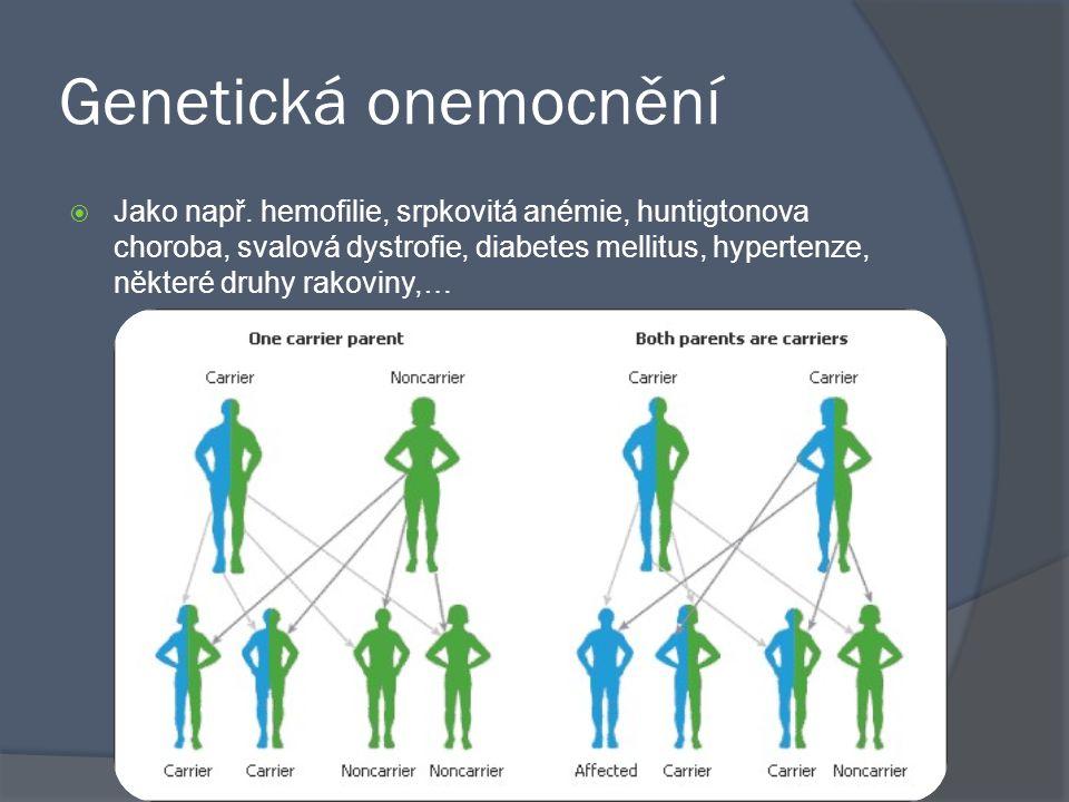 Genetická onemocnění