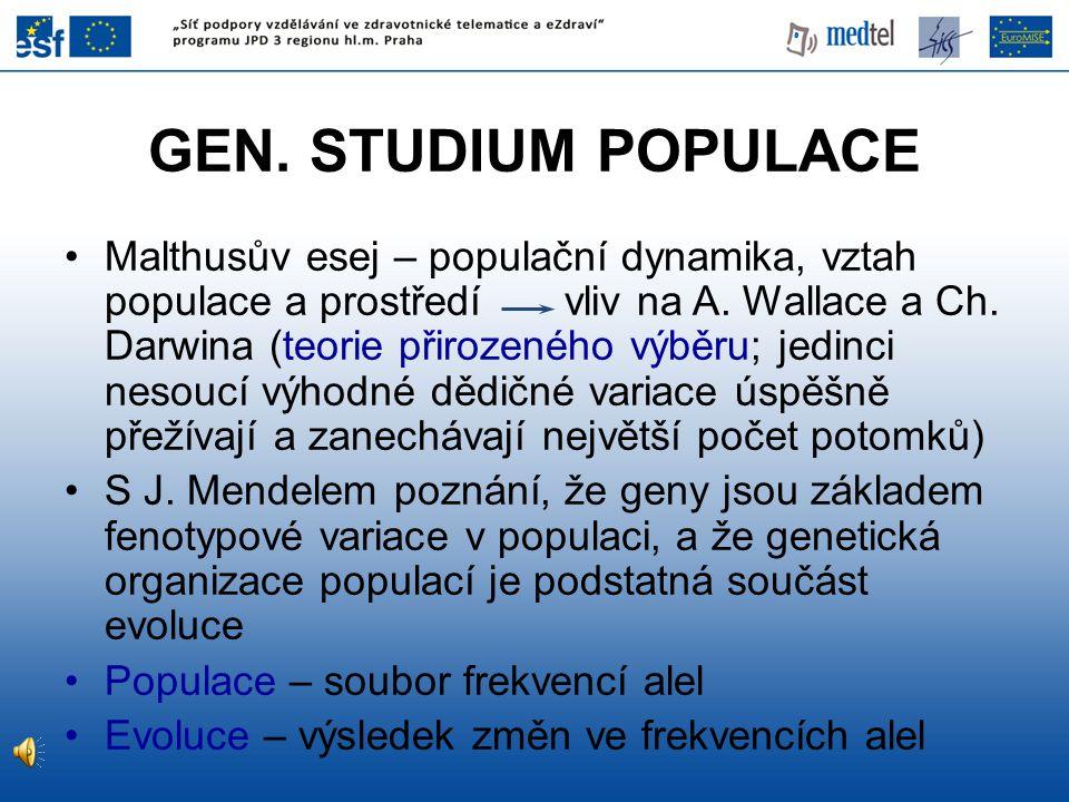 GEN. STUDIUM POPULACE