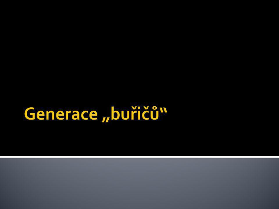 """Generace """"buřičů"""