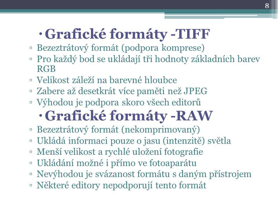 Grafické formáty -TIFF