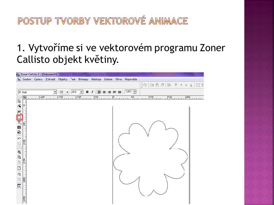 Postup tvorby vektorové animace