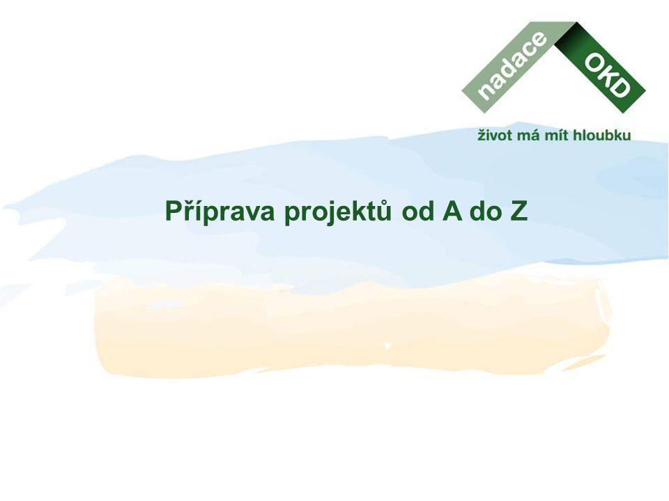 Příprava projektů od A do Z