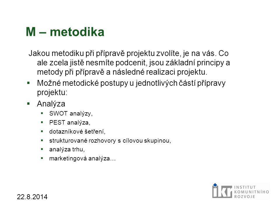 M – metodika