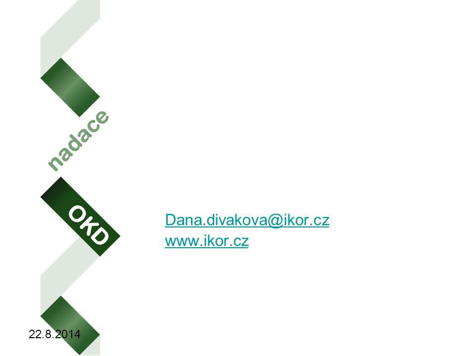Krásný den Dana.divakova@ikor.cz www.ikor.cz