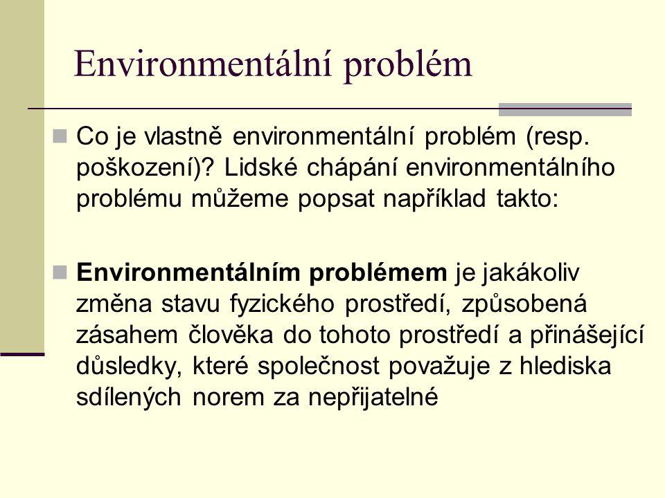 Environmentální problém