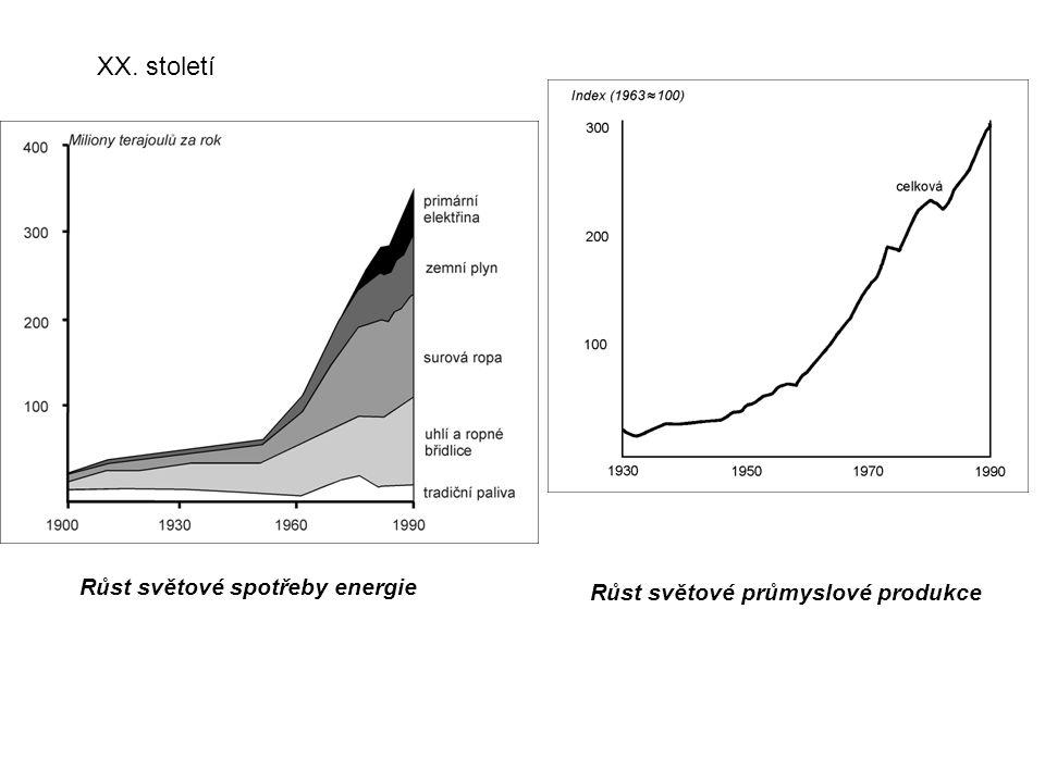Růst světové spotřeby energie