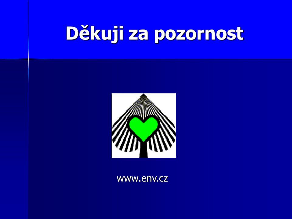 Děkuji za pozornost www.env.cz