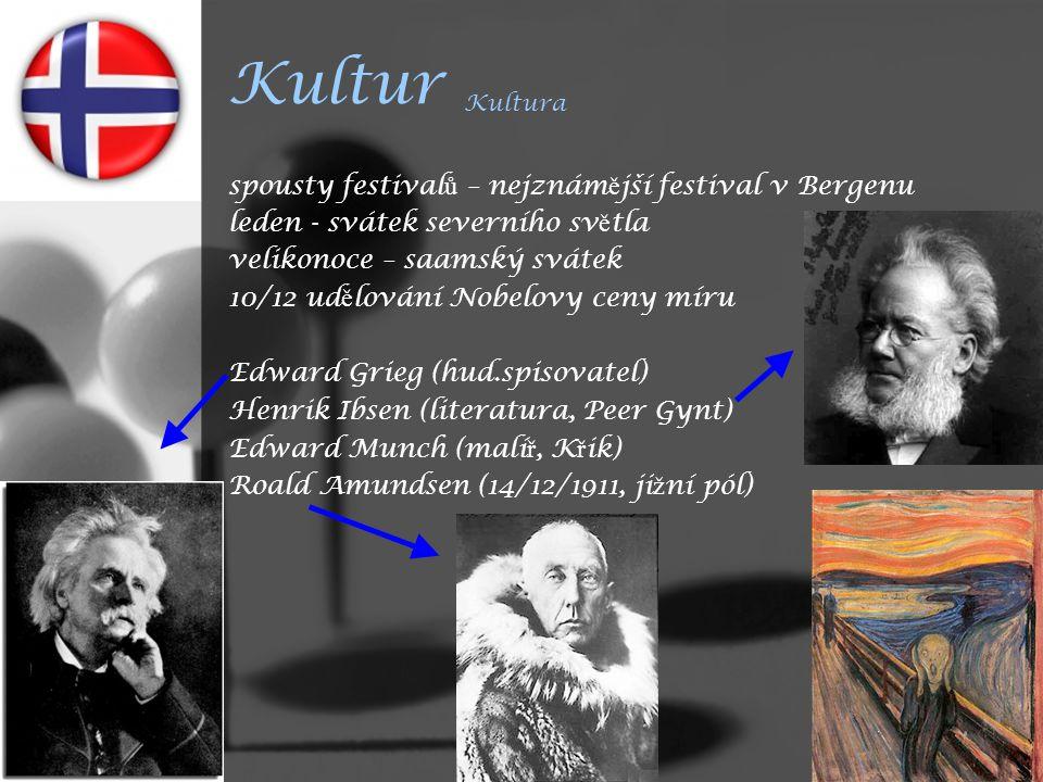 Kultur Kultura spousty festivalů – nejznámější festival v Bergenu
