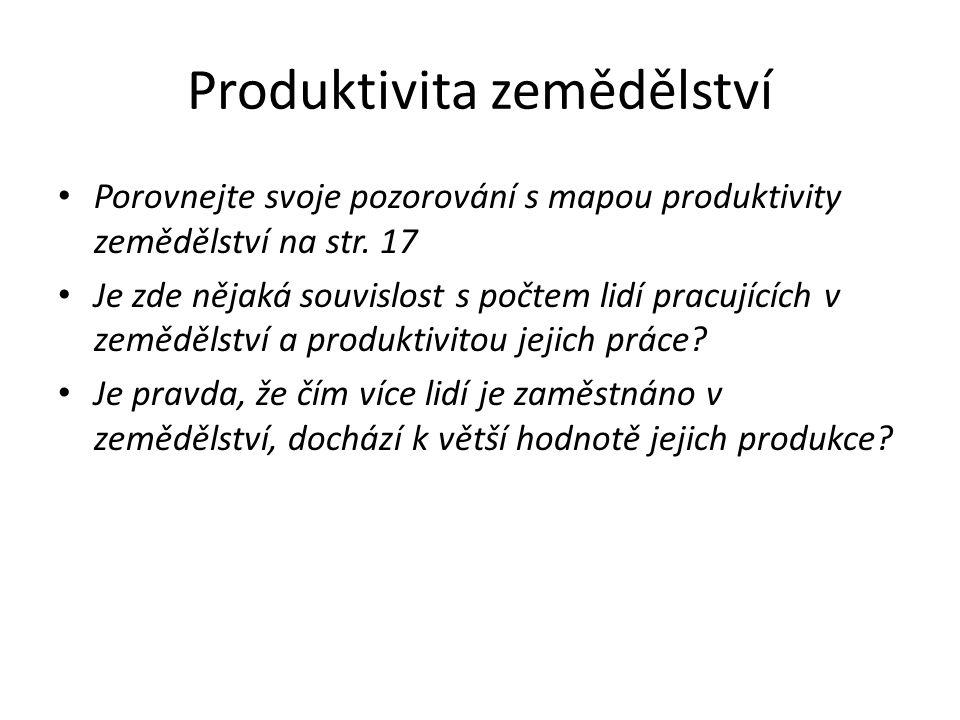 Produktivita zemědělství