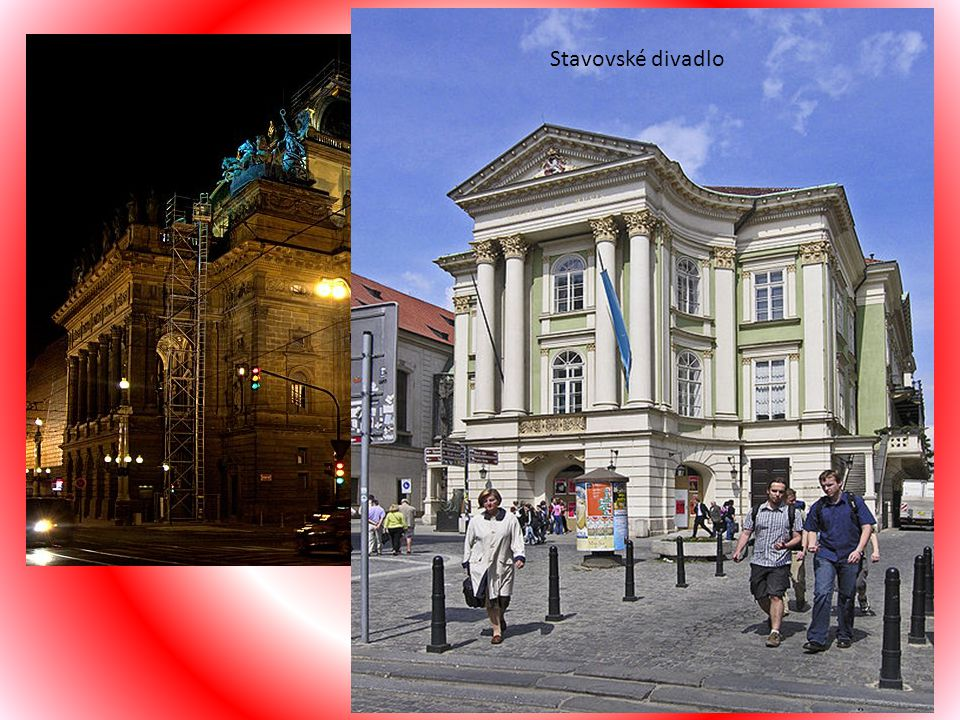Kultura Stavovské divadlo