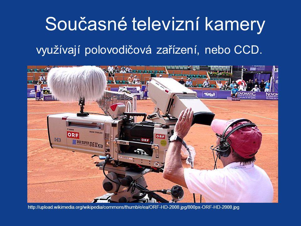 Současné televizní kamery
