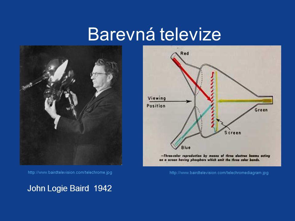 Barevná televize John Logie Baird 1942