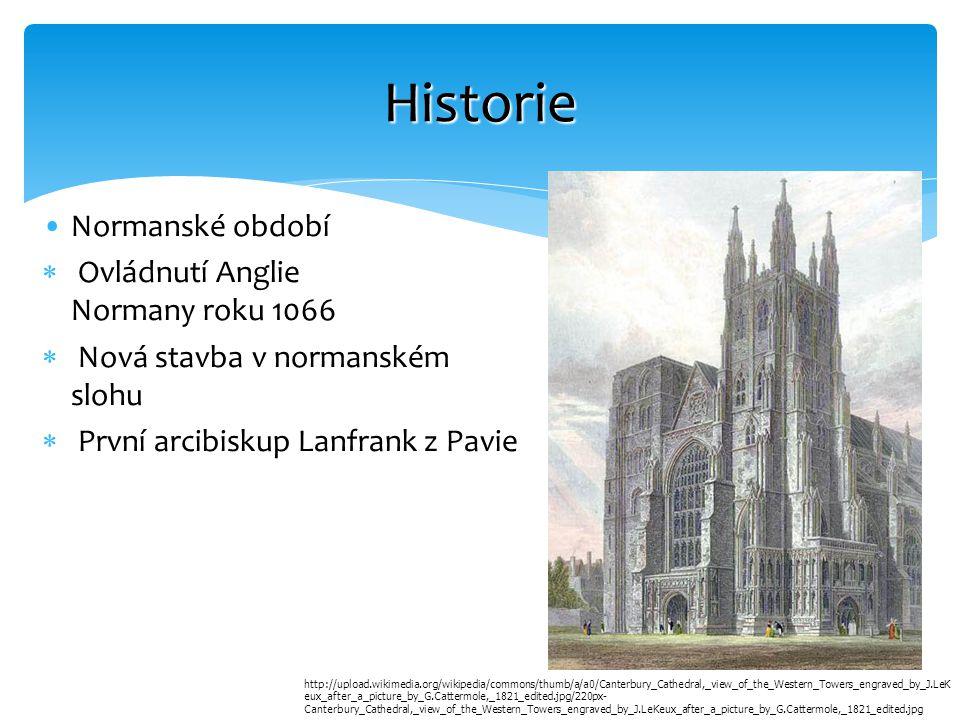 Historie Normanské období Ovládnutí Anglie Normany roku 1066