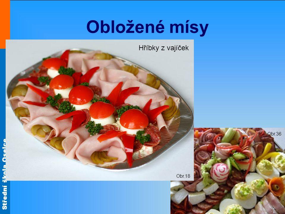 Obložené mísy Obr.18 Hříbky z vajíček Obr.36