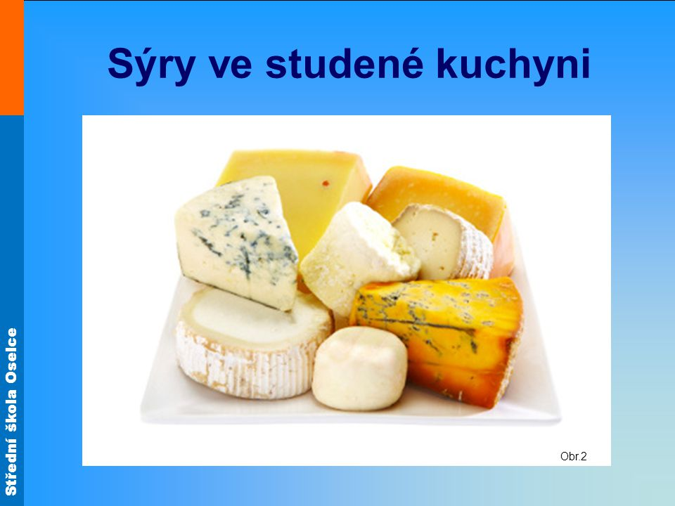 Sýry ve studené kuchyni