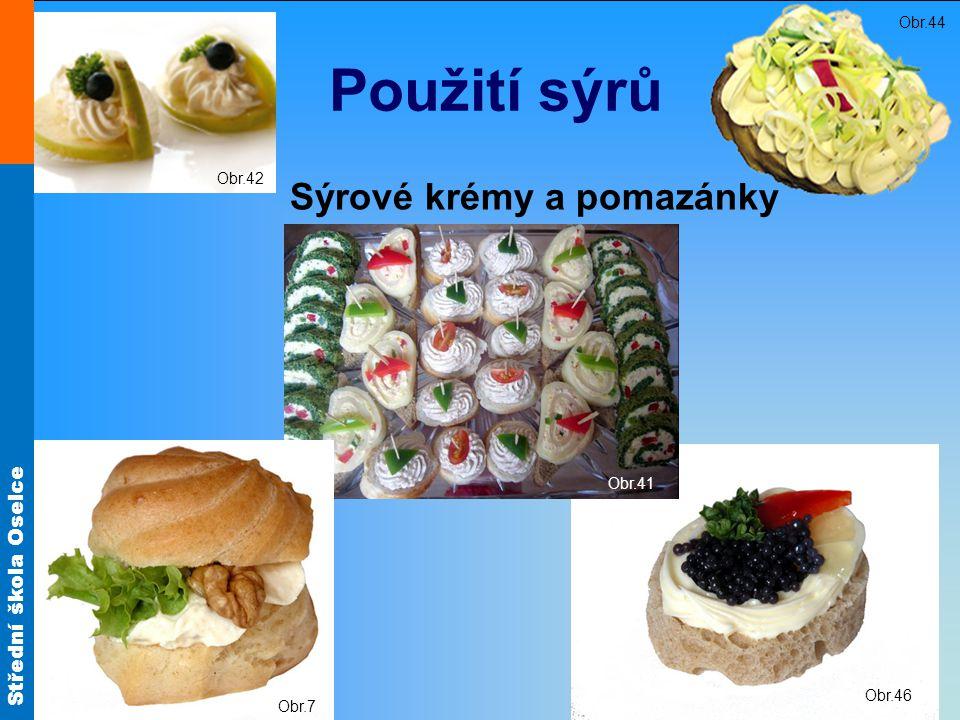 Sýrové krémy a pomazánky