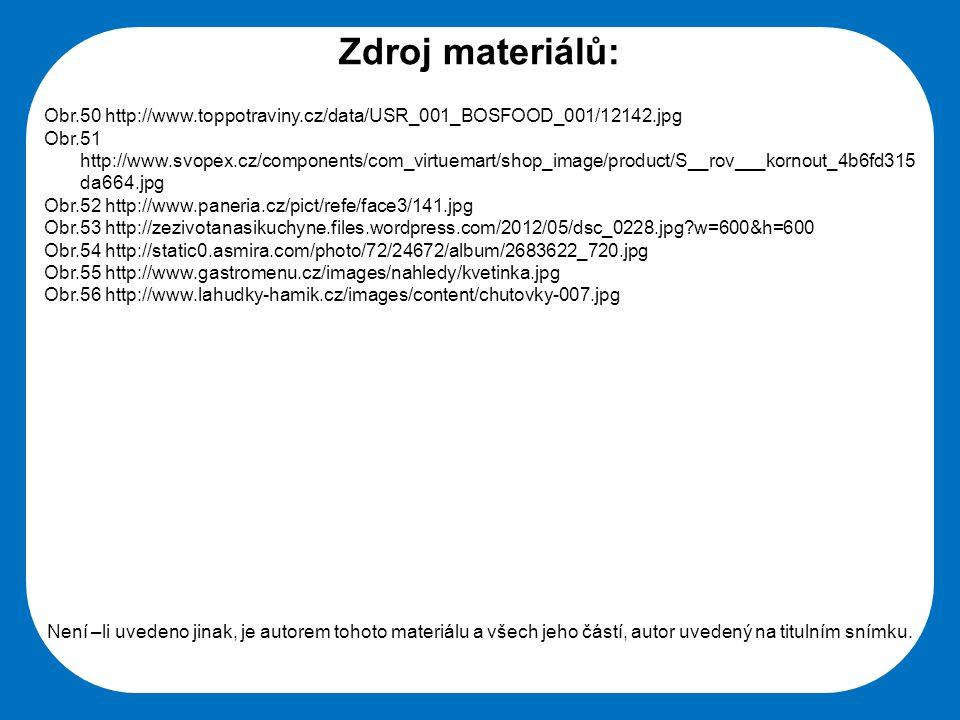 Zdroj materiálů: Obr.50 http://www.toppotraviny.cz/data/USR_001_BOSFOOD_001/12142.jpg.
