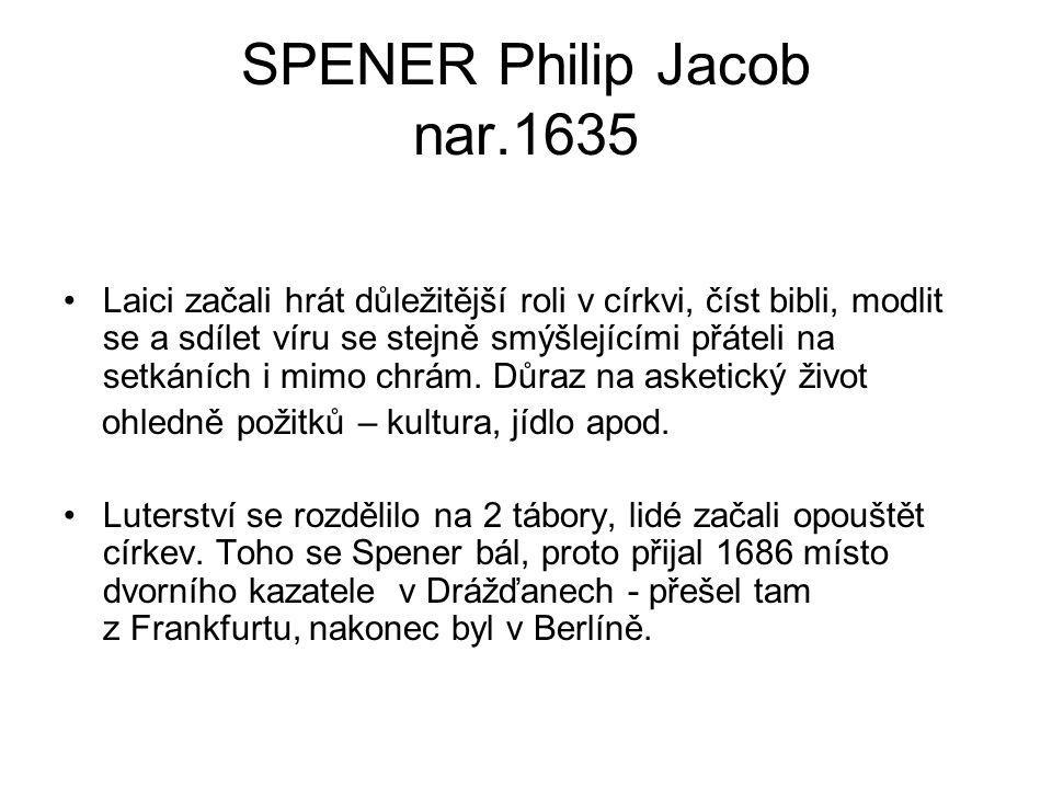 SPENER Philip Jacob nar.1635