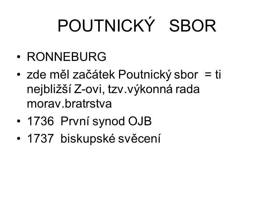 POUTNICKÝ SBOR RONNEBURG