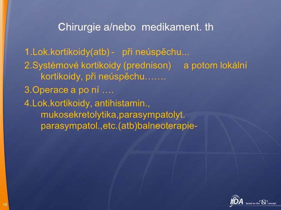 Chirurgie a/nebo medikament. th