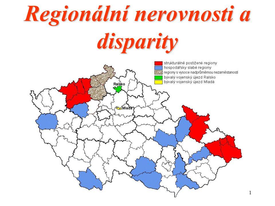 Regionální nerovnosti a disparity