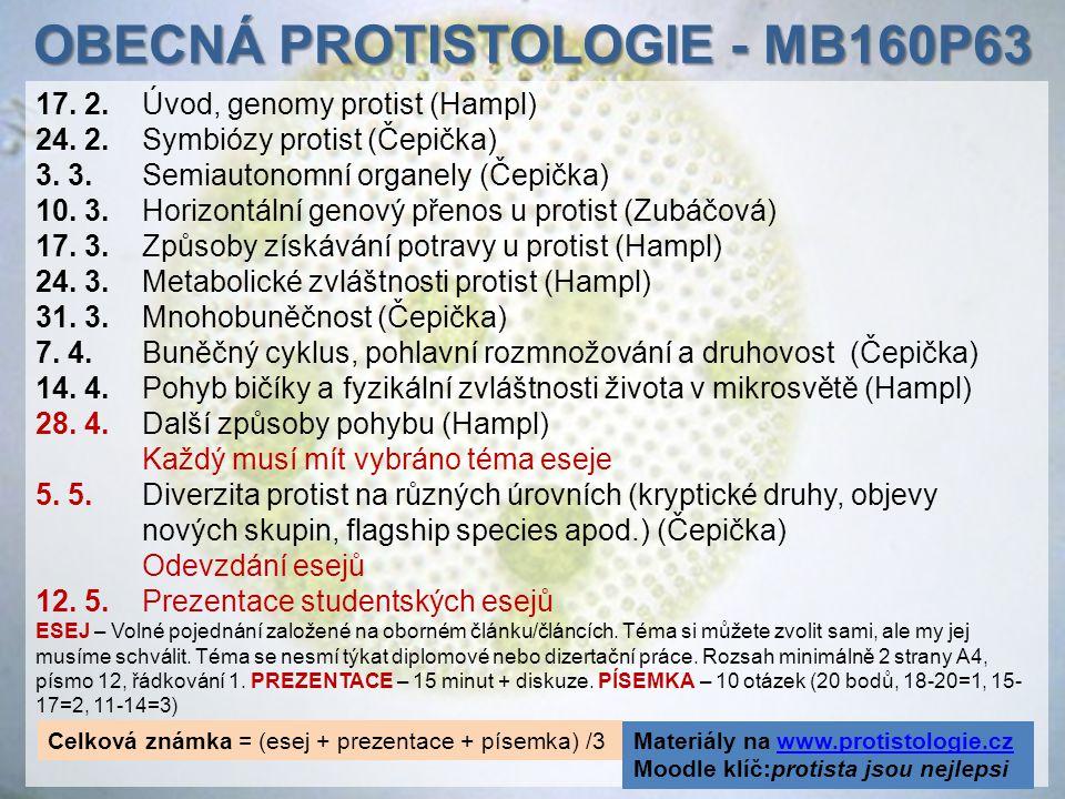 OBECNá protistologie - MB160P63