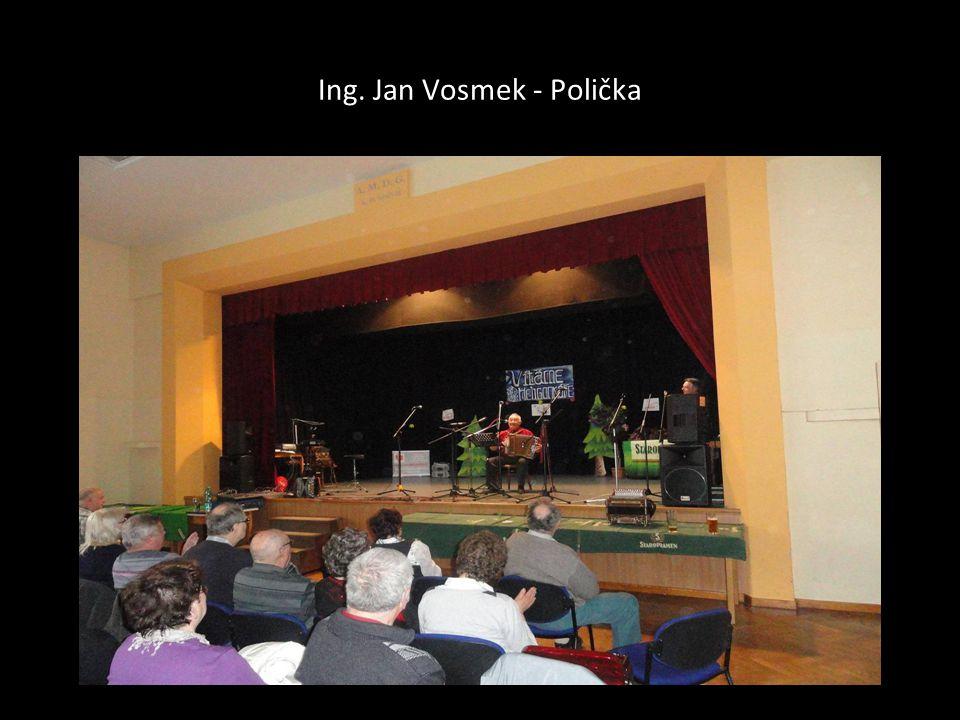 Ing. Jan Vosmek - Polička