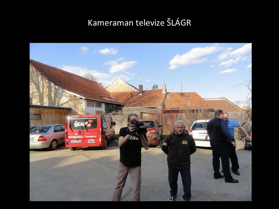 Kameraman televize ŠLÁGR