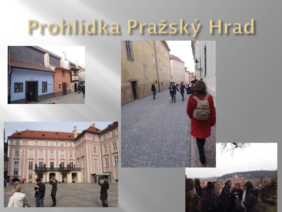 Prohlídka Pražský Hrad