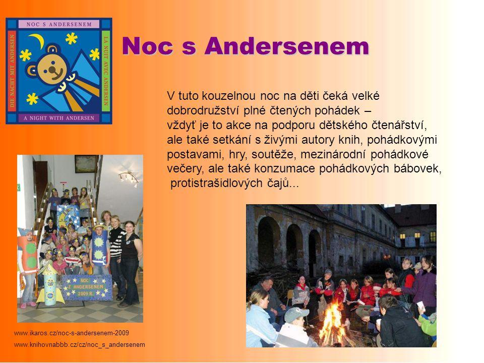 Noc s Andersenem V tuto kouzelnou noc na děti čeká velké